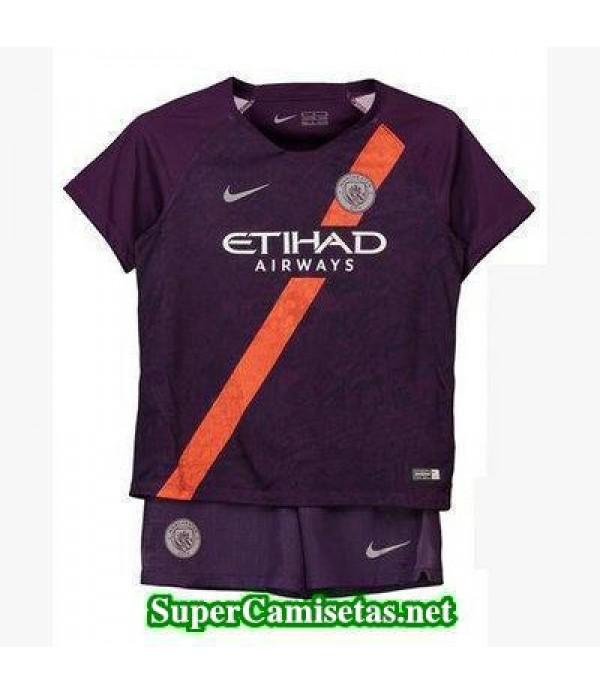 Tercera Equipacion Camiseta Manchester City Ninos 2018/19
