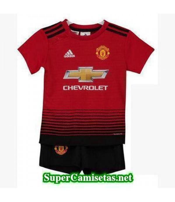 Primera Equipacion Camiseta Manchester United Ninos 2018/19