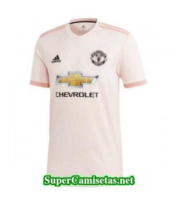 Segunda Equipacion Camiseta Manchester United 2018/19