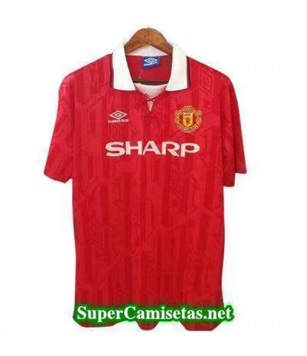 Tailandia Camiseta Manchester United clasicas 1992-1994