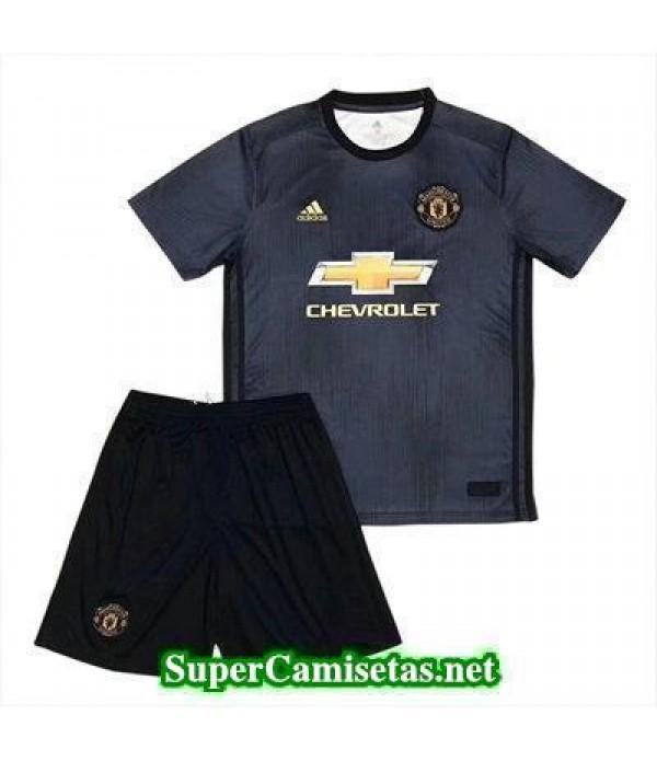 Tercera Equipacion Camiseta Manchester United Ninos 2018/19