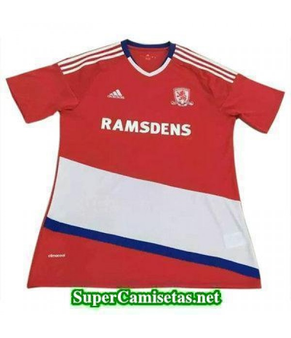 Tailandia Primera Equipacion Camiseta Middlesbrough 2016/17