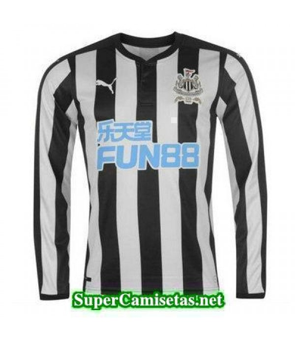 Primera Equipacion Camiseta Newcastle United Manga Larga 2017/18
