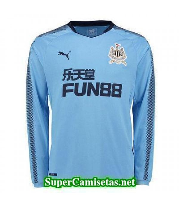 Segunda Equipacion Camiseta Newcastle United Manga Larga 2017/18