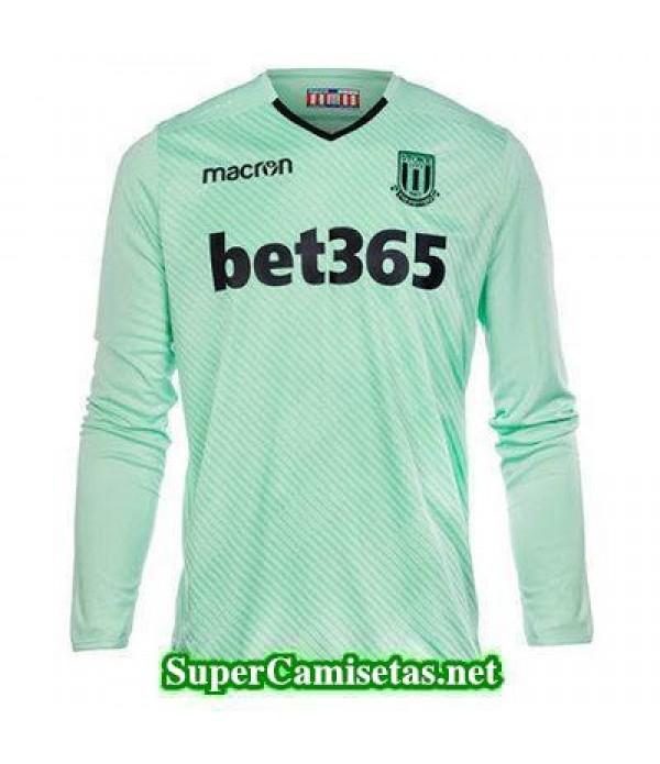 Portero Equipacion Camiseta Stoke City Manga Larga 2017/18