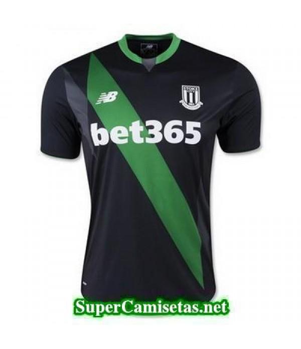 Segunda Equipacion Camiseta Stoke City 2015/16