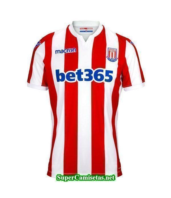 Tailandia Primera Equipacion Camiseta Stoke City 2018/19