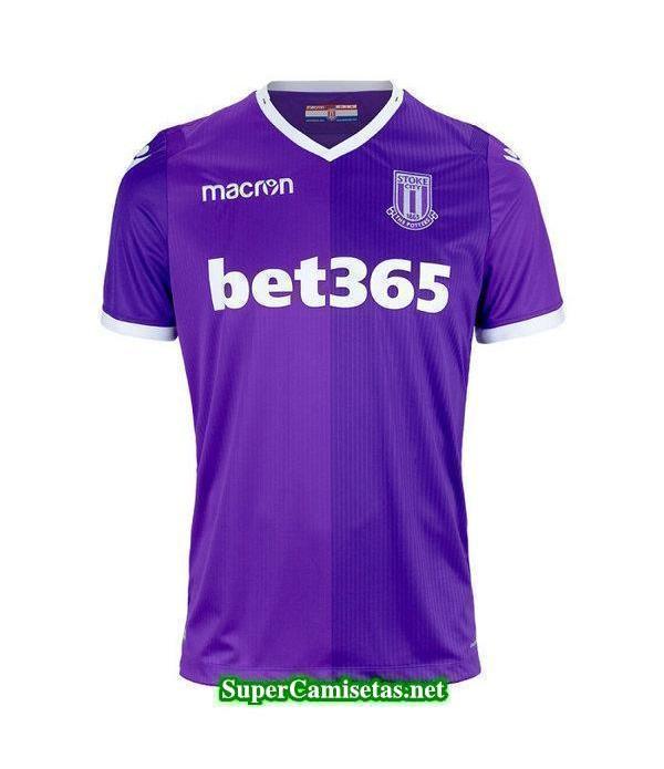 Tailandia Segunda Equipacion Camiseta Stoke City 2018/19