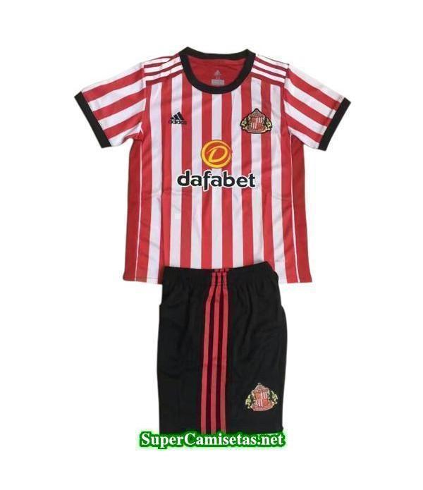 Primera Equipacion Camiseta Sunderland Ninos 2017/18