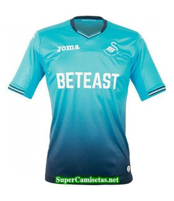 Segunda Equipacion Camiseta Swansea City 2016/17
