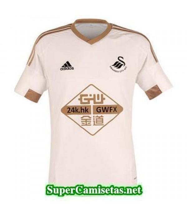 Tailandia Primera Equipacion Camiseta Swansea City 2015/16