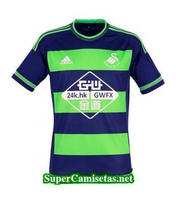 Tailandia Segunda Equipacion Camiseta Swansea City 2015/16