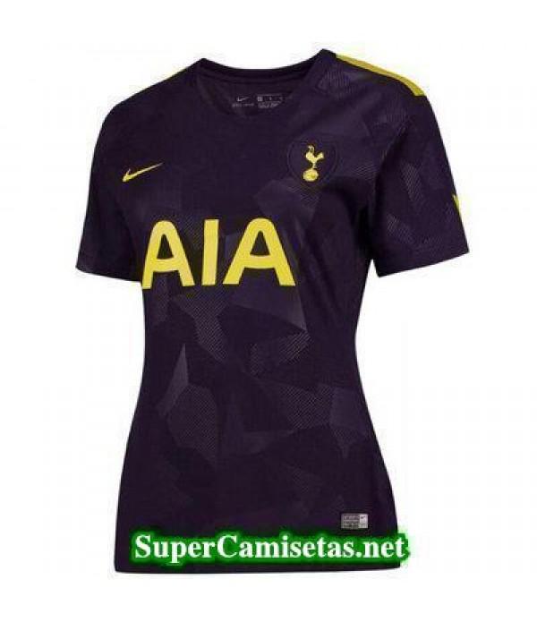 Tercera Equipacion Camiseta Tottenham Mujer 2017/18