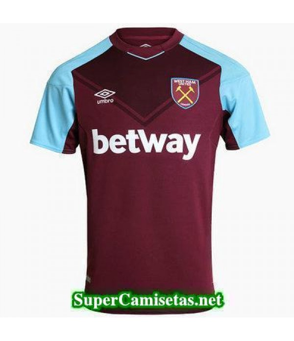 Primera Equipacion Camiseta West Ham 2017/18