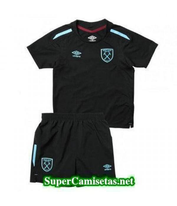 Segunda Equipacion Camiseta West Ham Ninos 2017/18
