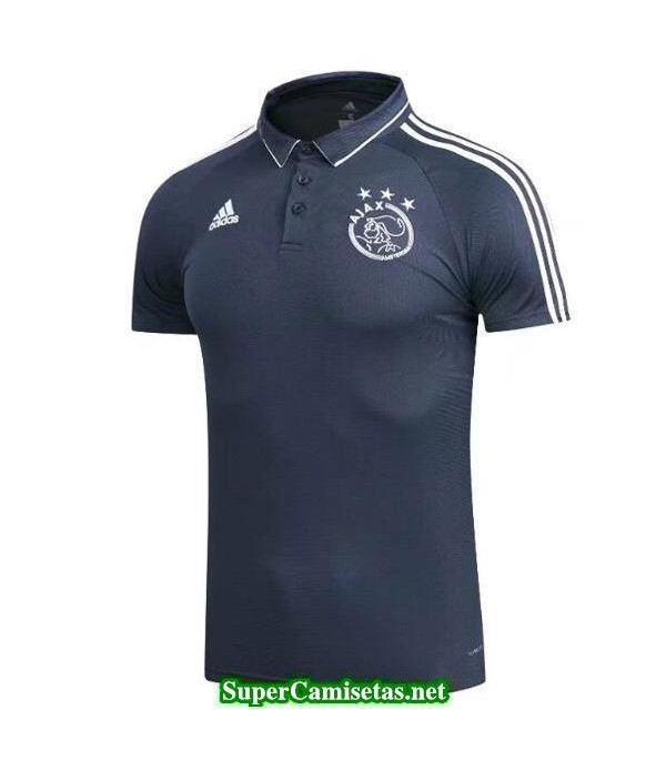 Camiseta polo Ajax Negro 2017 2018