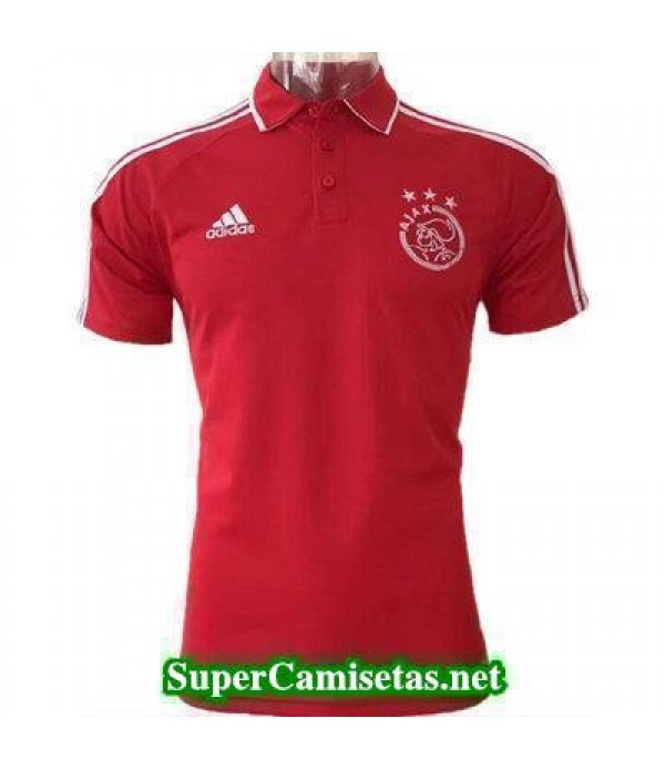 Camiseta polo Ajax rojo 2017 2018