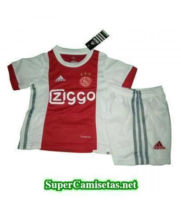 Primera Equipacion Camiseta Ajax Ninos 2017/18