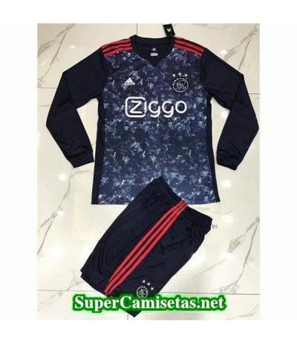 Segunda Equipacion Camiseta Ajax Manga Larga 2017/...