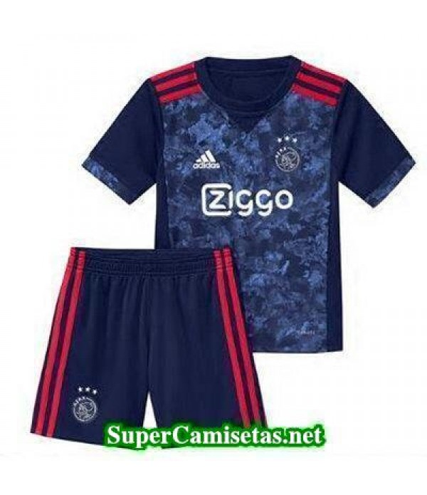 Segunda Equipacion Camiseta Ajax Ninos 2017/18