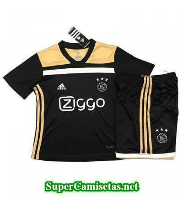 Segunda Equipacion Camiseta Ajax Ninos 2018/19