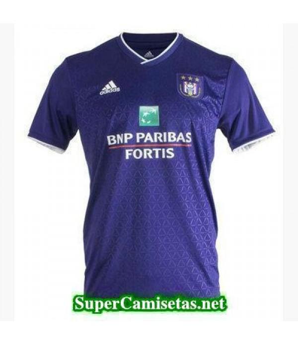 Tailandia Primera Equipacion Camiseta Anderlecht 2018/19