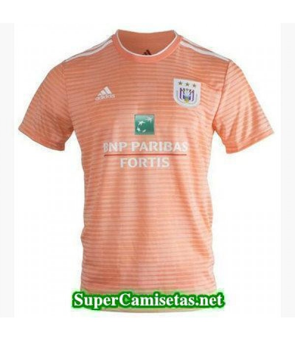 Tailandia Segunda Equipacion Camiseta Anderlecht 2018/19