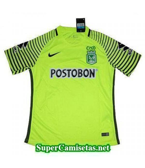 Tailandia Camiseta Atletico Nacional Verde 70th Anniversary