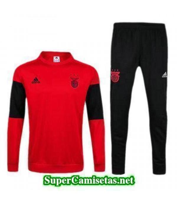 Camiseta entrenamiento Benfica ML rojo 2017 2018