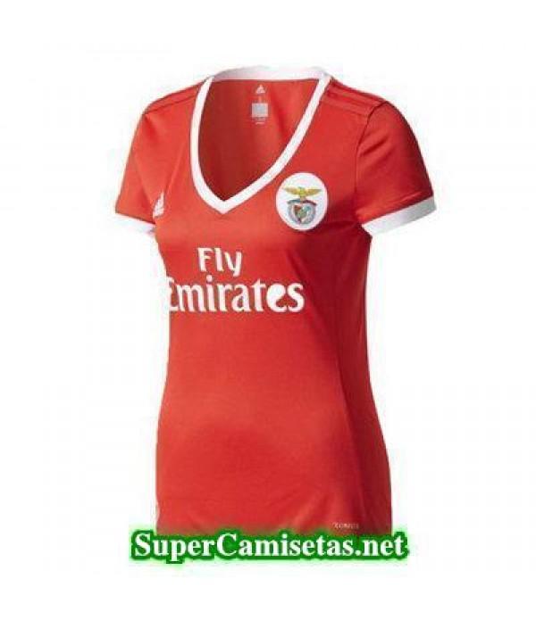 Primera Equipacion Camiseta Benfica Mujer 2017/18