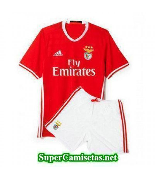Primera Equipacion Camiseta Benfica Ninos 2016/17