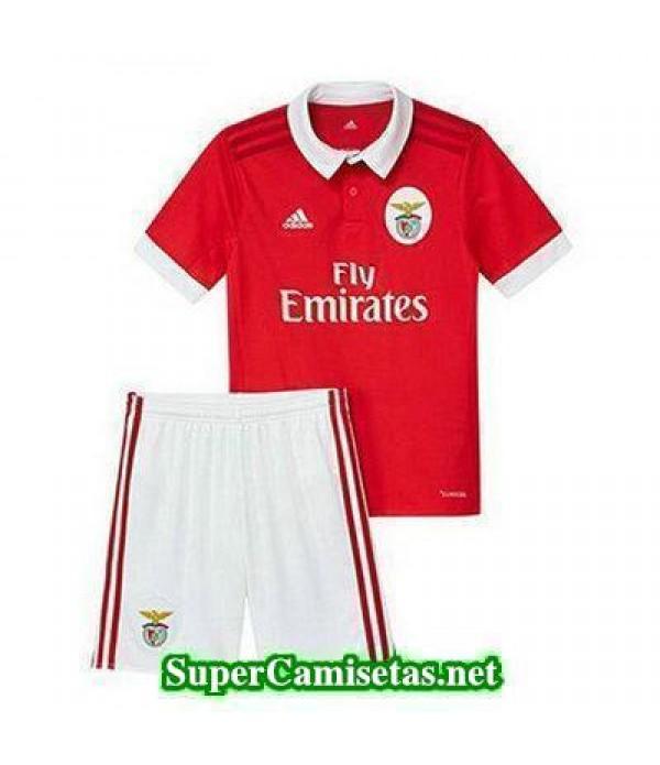 Primera Equipacion Camiseta Benfica Ninos 2017/18