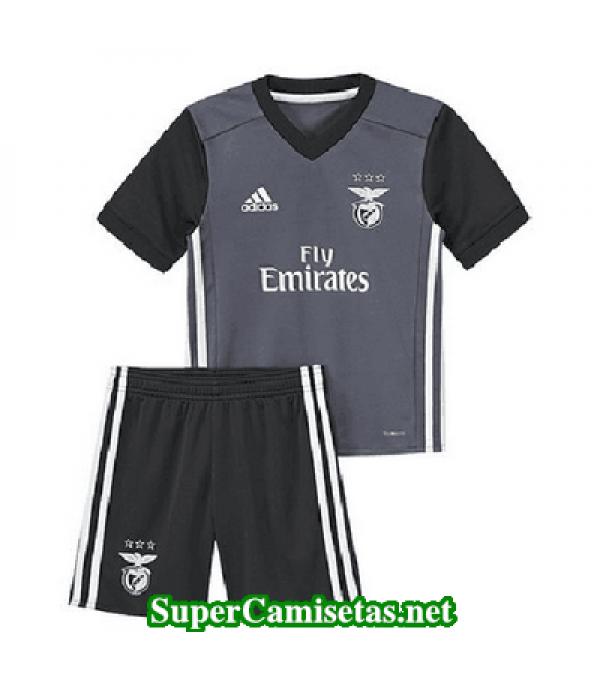 Segunda Equipacion Camiseta Benfica Ninos 2017/18