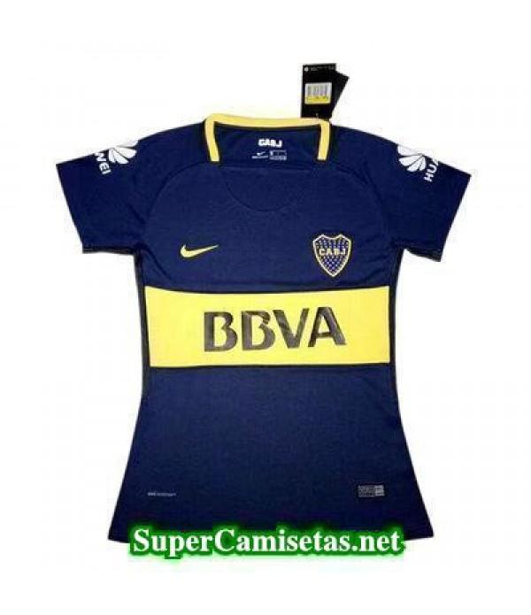Primera Equipacion Camiseta Boca Juniors Mujer 2017/18