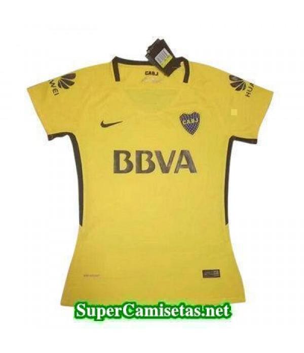 Segunda Equipacion Camiseta Boca Juniors Mujer 2017/18