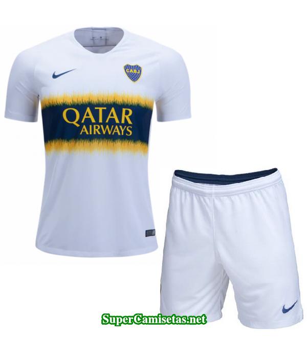 Segunda Equipacion Camiseta Boca Juniors Ninos 2018/19
