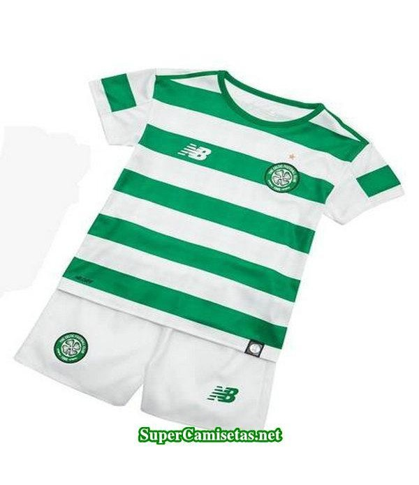 Primera Equipacion Camiseta Celtic Ninos 2018/19