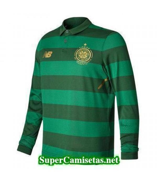 Segunda Equipacion Camiseta Celtic Manga Larga 2017/18