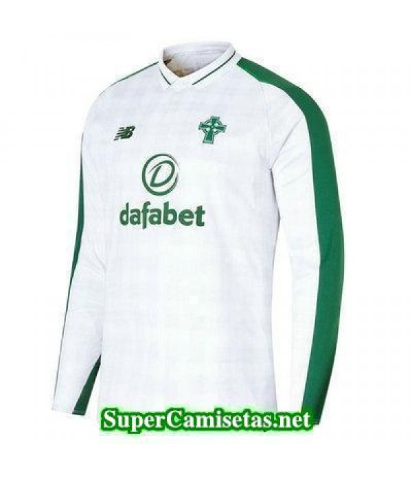 Segunda Equipacion Camiseta Celtic Manga Larga 2018/19