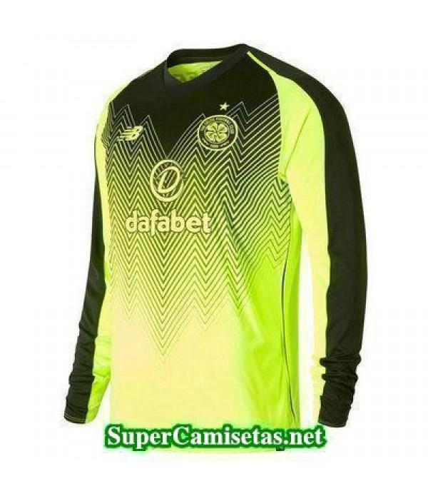 Tercera Equipacion Camiseta Celtic Manga Larga 2018/19