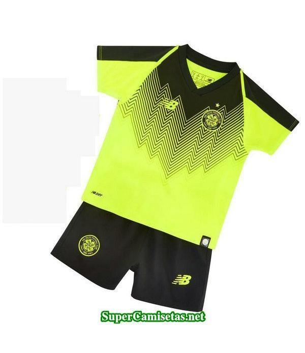 Tercera Equipacion Camiseta Celtic Ninos 2018/19