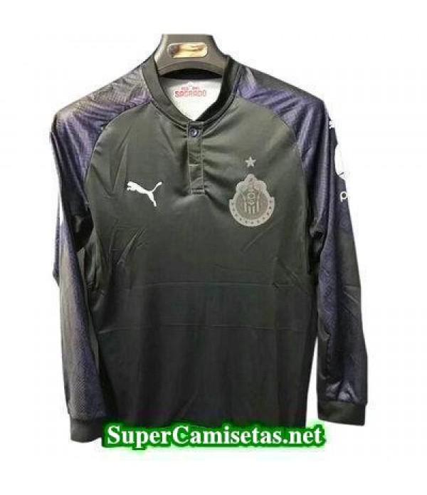 Segunda Equipacion Camiseta Chivas de Guadalajara Manga Larga 2017/18