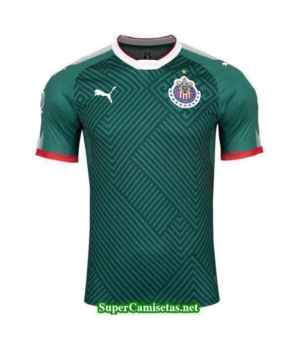 Tailandia Tercera Equipacion Camiseta Chivas de Guadalajara 2017/18
