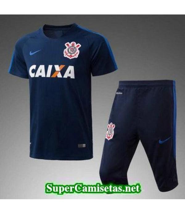 9a4a5fbc82 camiseta entrenamiento Corinthians Azul oscuro 2017 2018 ...