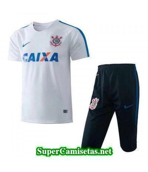 camiseta entrenamiento Corinthians blanco 2017 2018