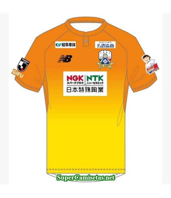 Tailandia Portero Equipacion Camiseta FC Gifu 2019/20