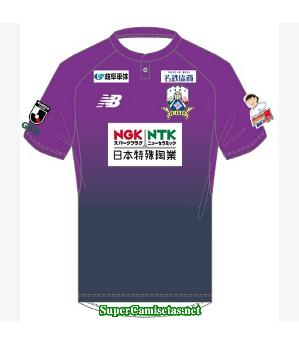 Tailandia Portero Equipacion Camiseta FC Gifu purpura 2019/20