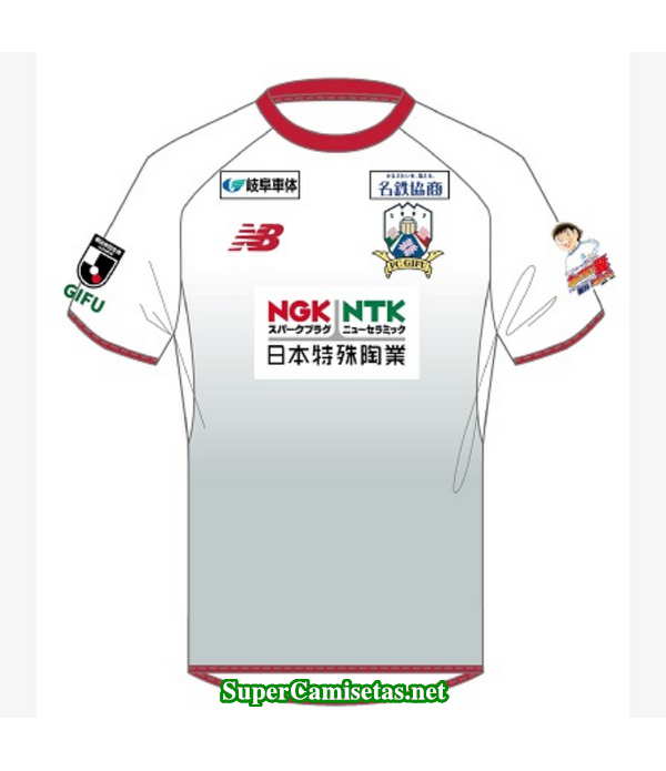 Tailandia Segunda Equipacion Camiseta FC Gifu 2019/20