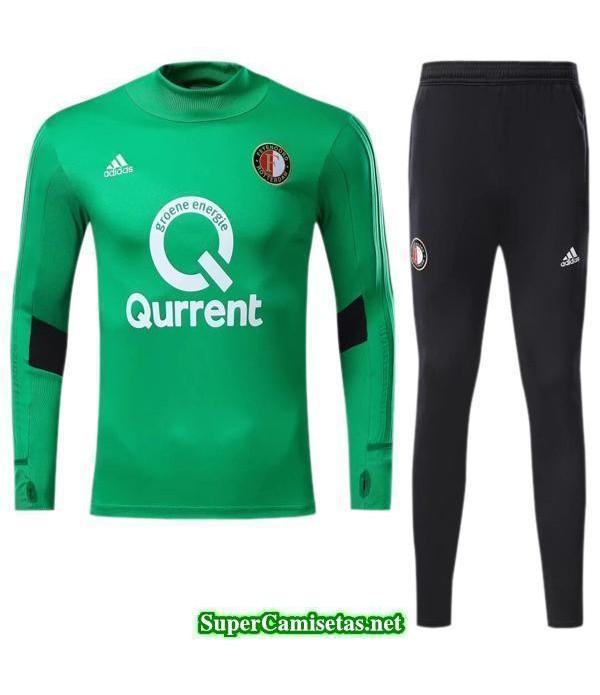 camiseta entrenamiento Feyenoord ML Verde 2017 2018