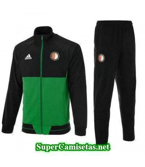 Chaquetas Feyenoord Verde 2017 2018 baratas